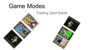 Play Shranks as a Trading Card Game