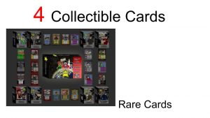 Shranks cards are collectible and has rare cards