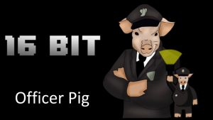 Officer Pig Header